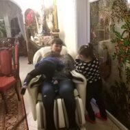 Rodzinnie na fotelu