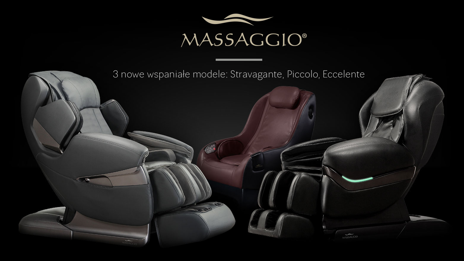 3 nowe fotele Massaggio