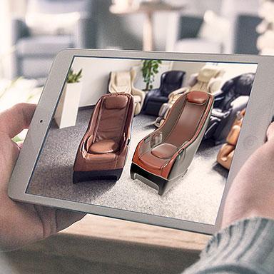AR - rozszerzona rzeczywistość w fotelach masujących - Rest Lords