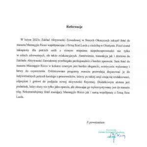 Referencje Zakład Aktywności Zawodowej w Starych Oleszycach