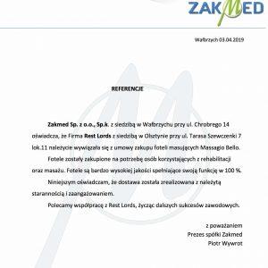 Referencje ZakMed