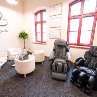 Salon wystawowy foteli masujących