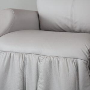 siedzisko skóra fotel masujący Keyton Royal