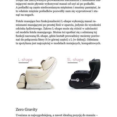 Artykuł o fotelach masujących