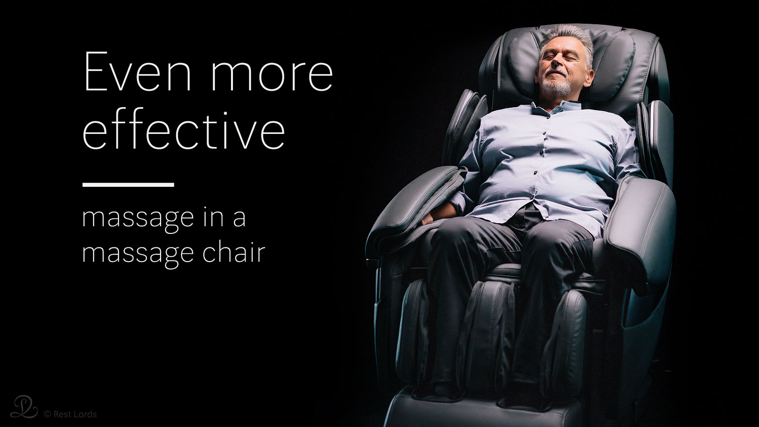 Even more effective massage in massage chair