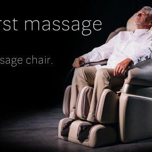First massage on massage chair
