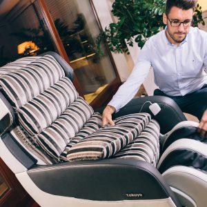 Fotel masujący 2w1 Tokuyo Ifancy