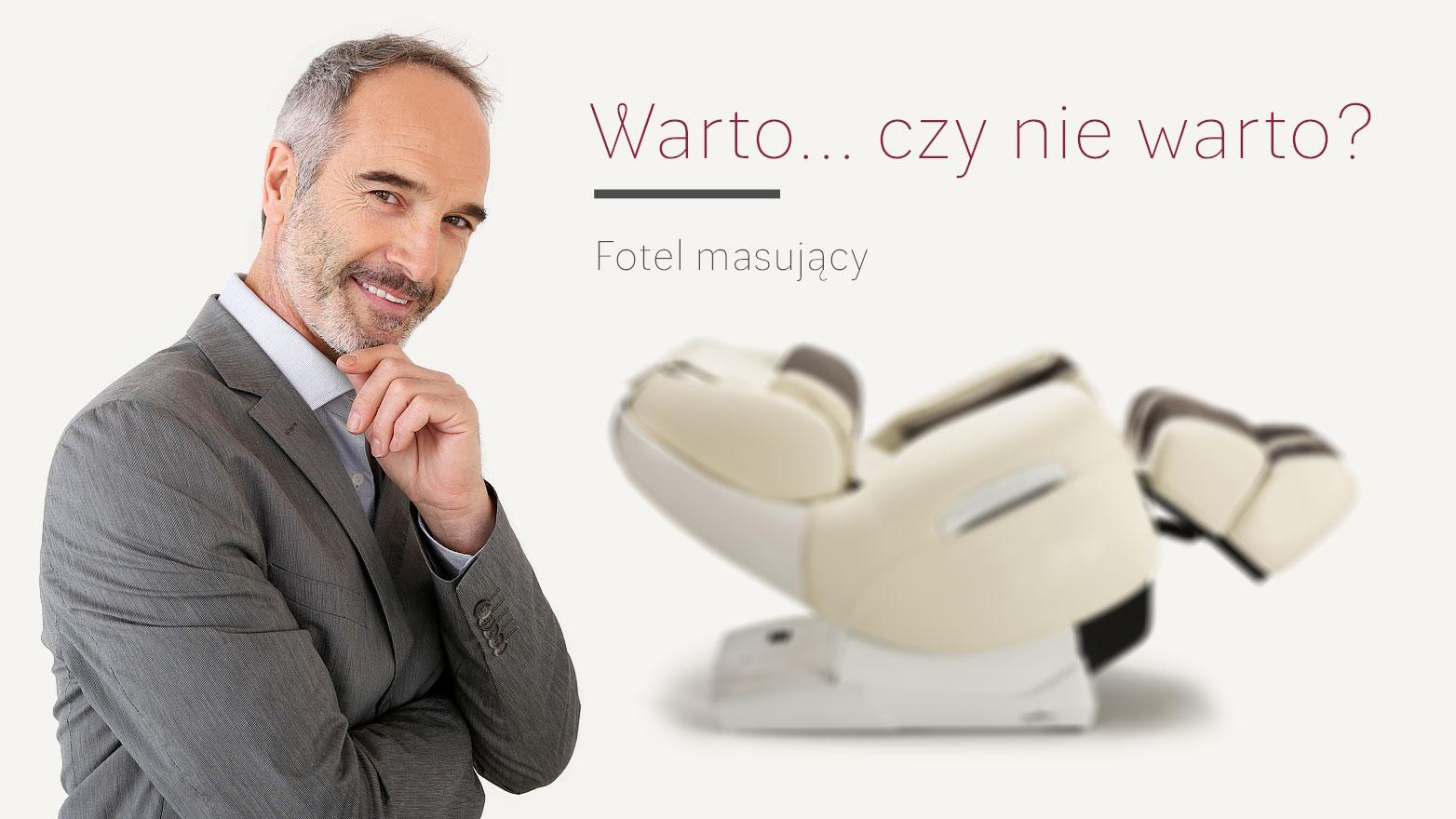 Fotel masujący czy warto