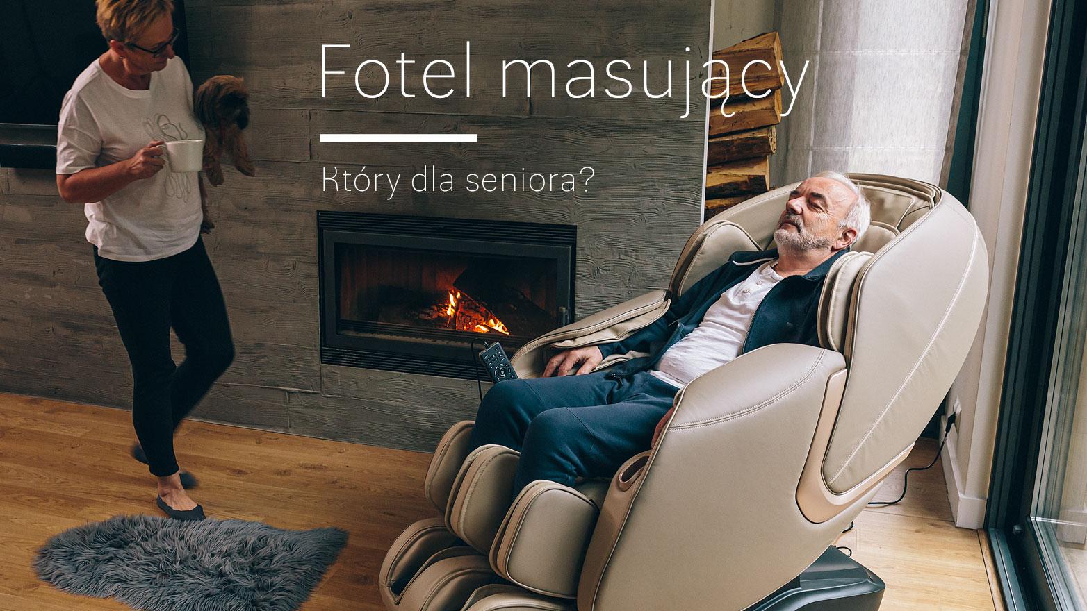 Fotel masujący dla seniora