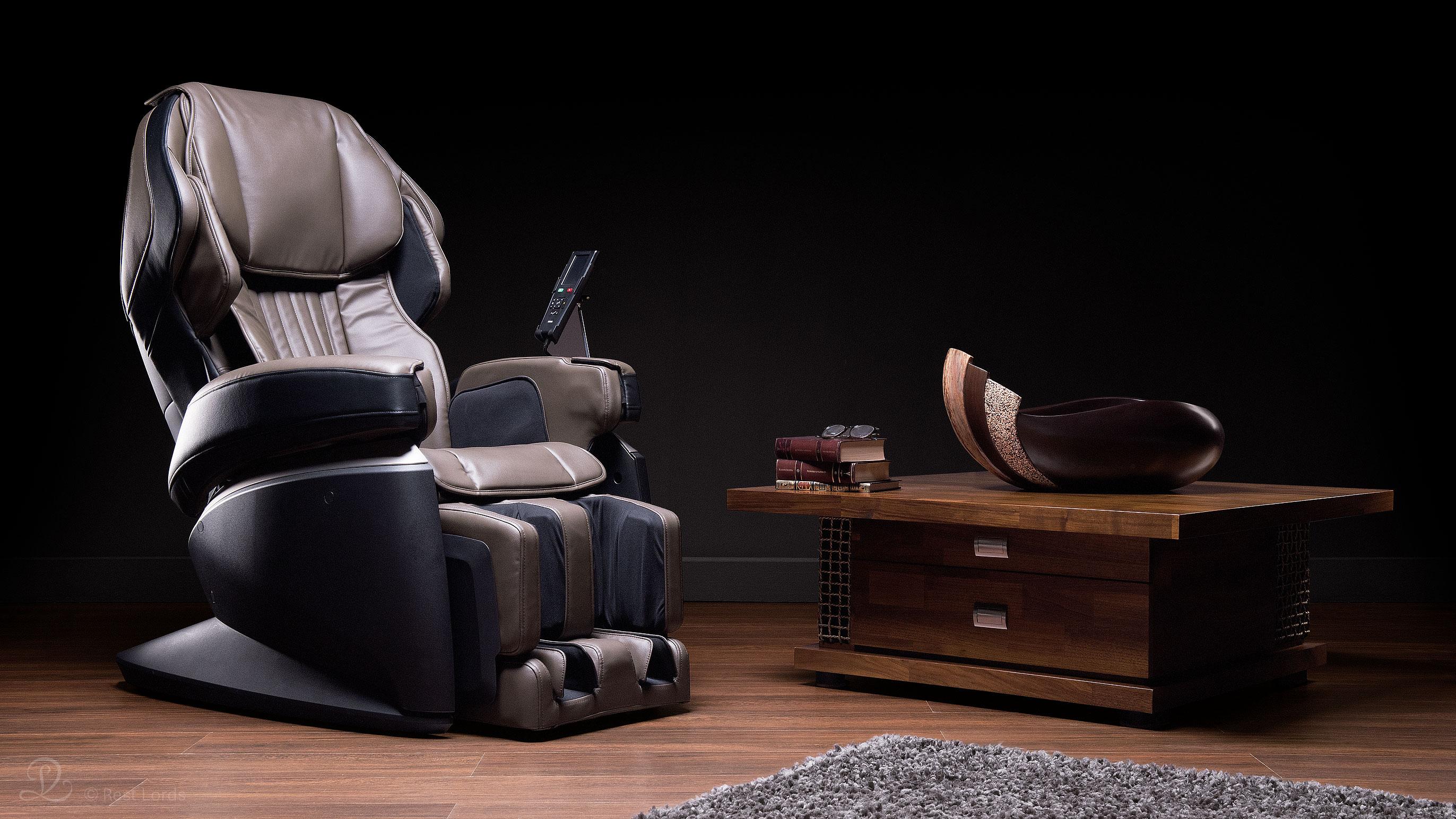 Fotel masujący z masażem Fujiiryoki JP1000