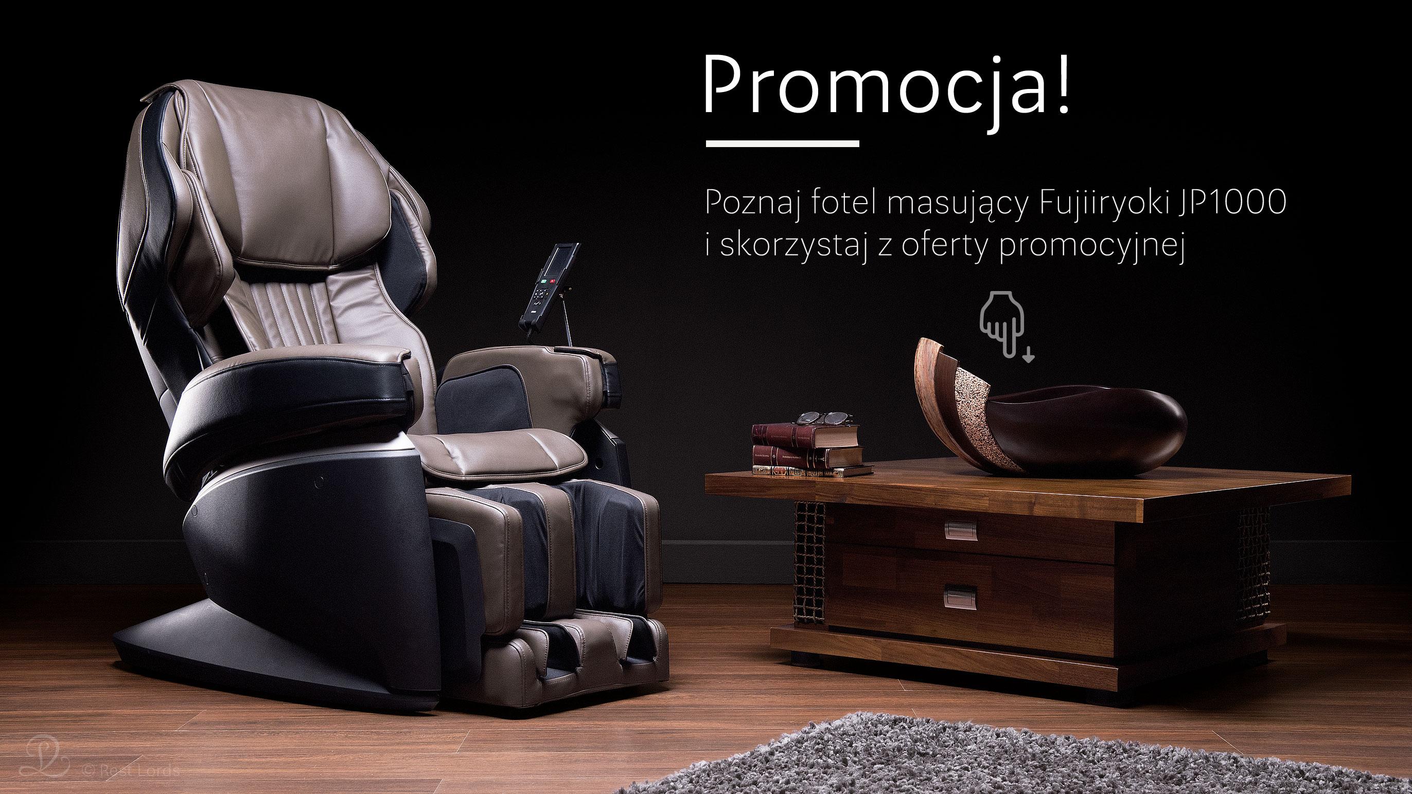 Promocja fotela FUjiiryoki JP1000