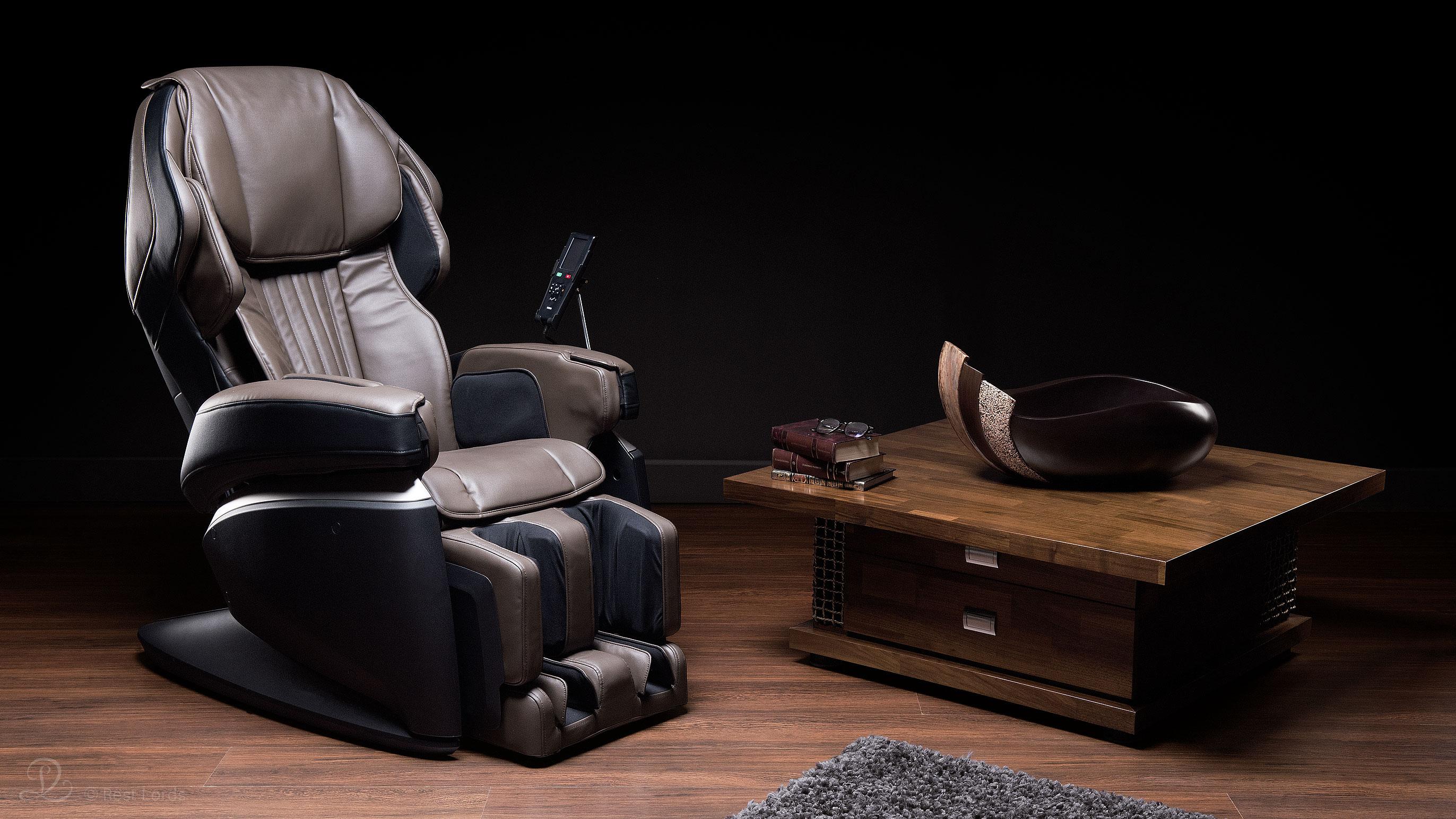 Fotel masujący Fujiiryoki JP1000 aranżacja