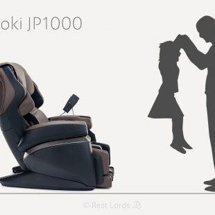 Wymiary fotela masującego Fujiiryoki JP1000