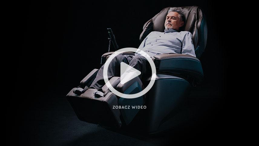Fotel masujący Fujiiryoki JP1000 wideo