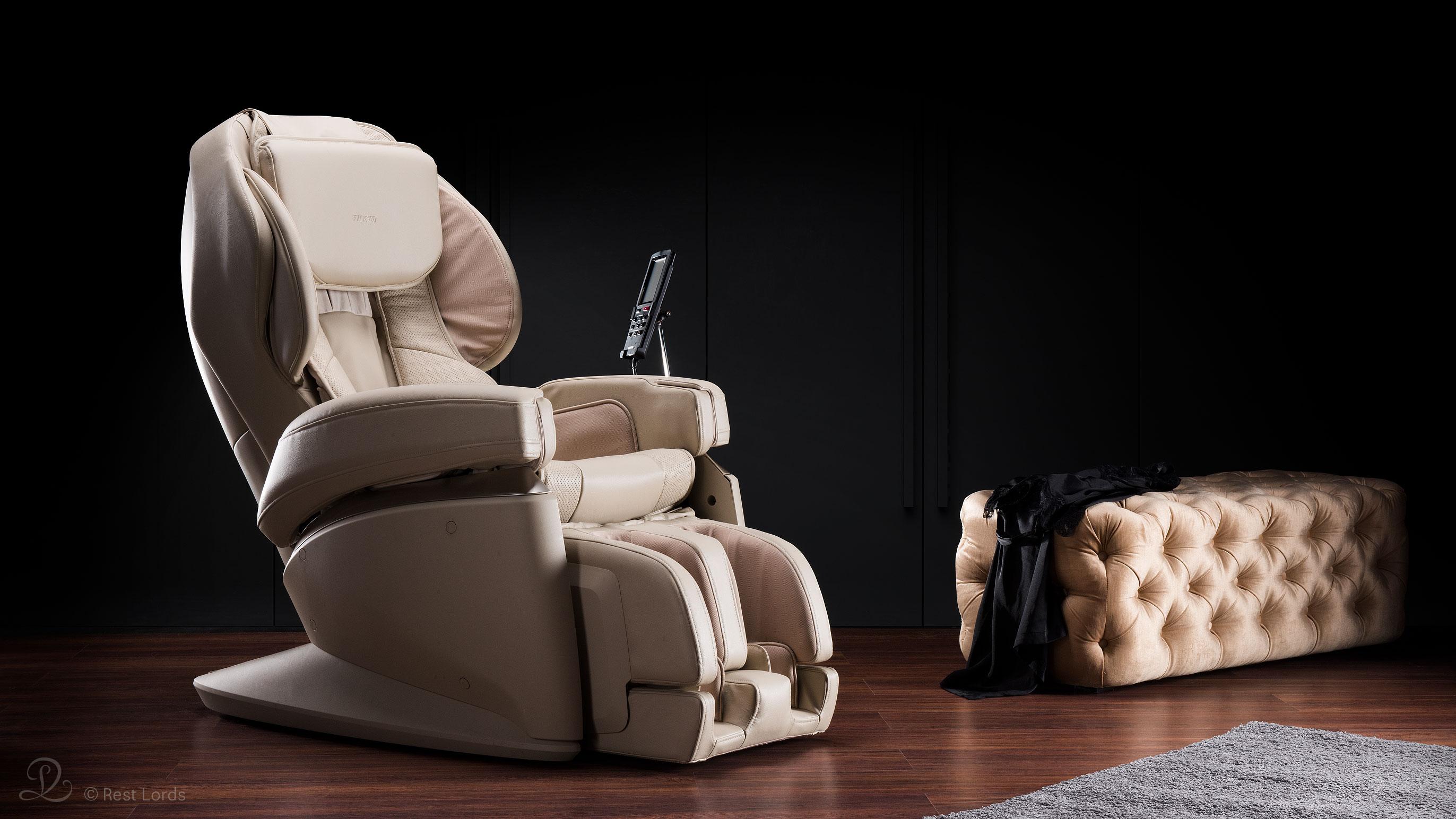 Beżowy fotel do masażu JP2000