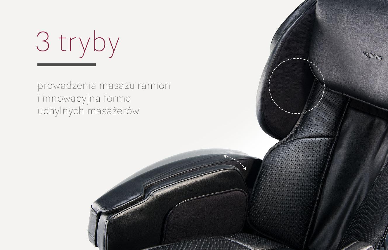 Masaż rąk w fotelu do masażu JP2000