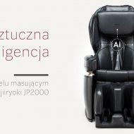 Sztuczna inteligencja w fotelu masujący Fujiiryoki JP2000