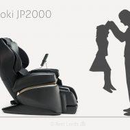 Fotel do masażu Fujiiryoki JP2000 - jak duży?