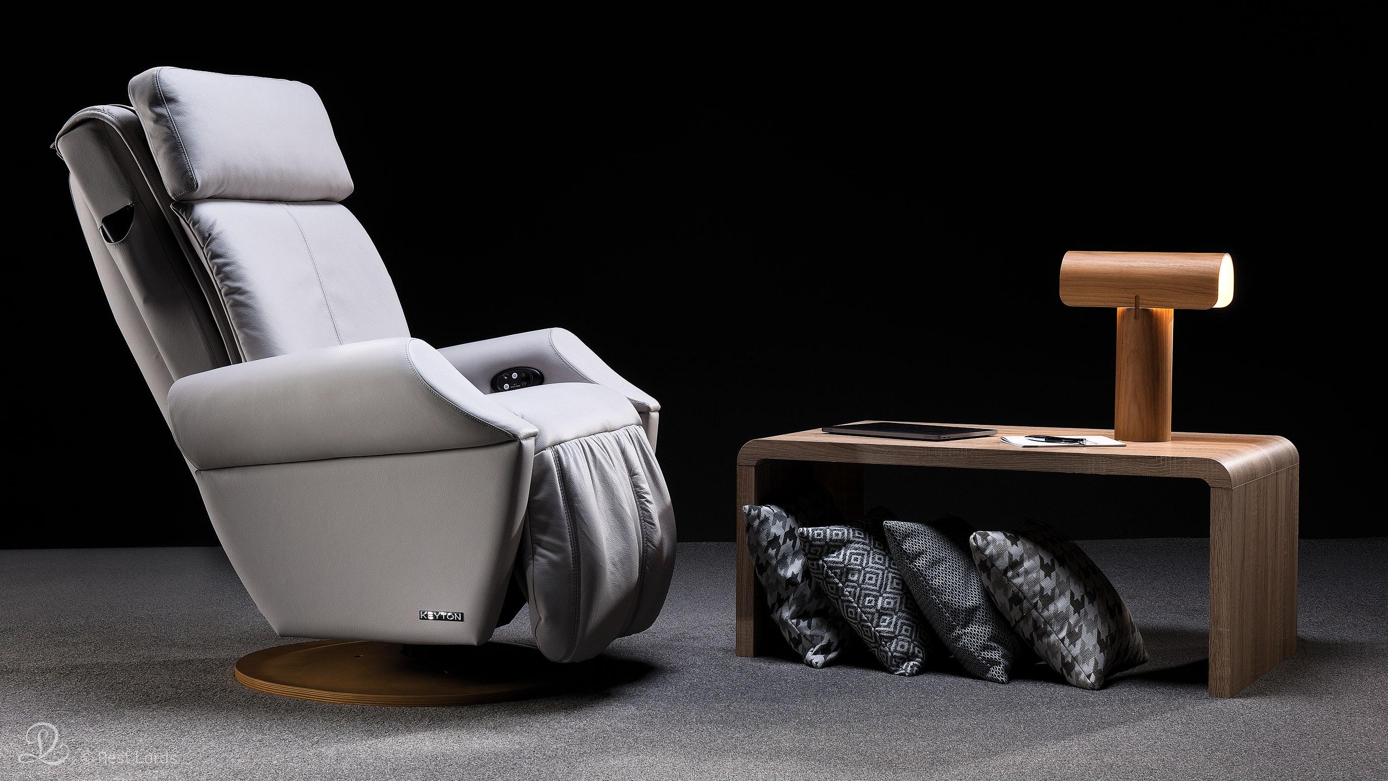 Fotel masujący Keyton H10 Royal aranżacja