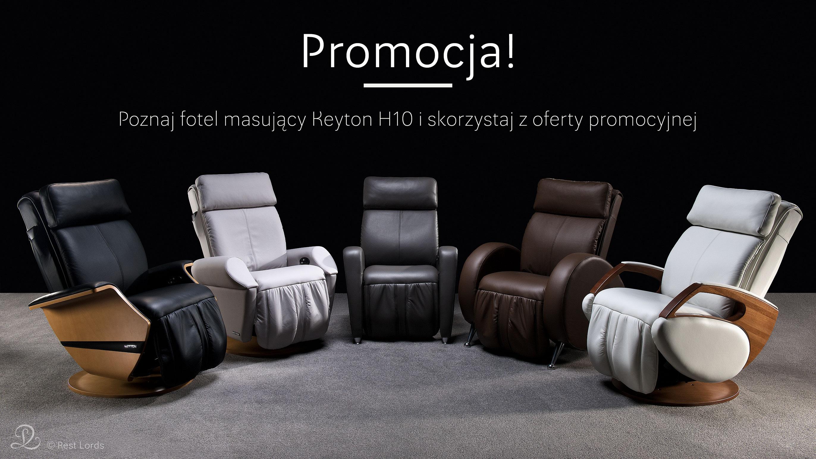 Fotel masujący Keyton H10 promocja wyprzedaż