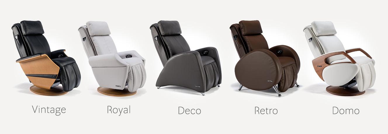 Różne fotele masujące Keyton h10