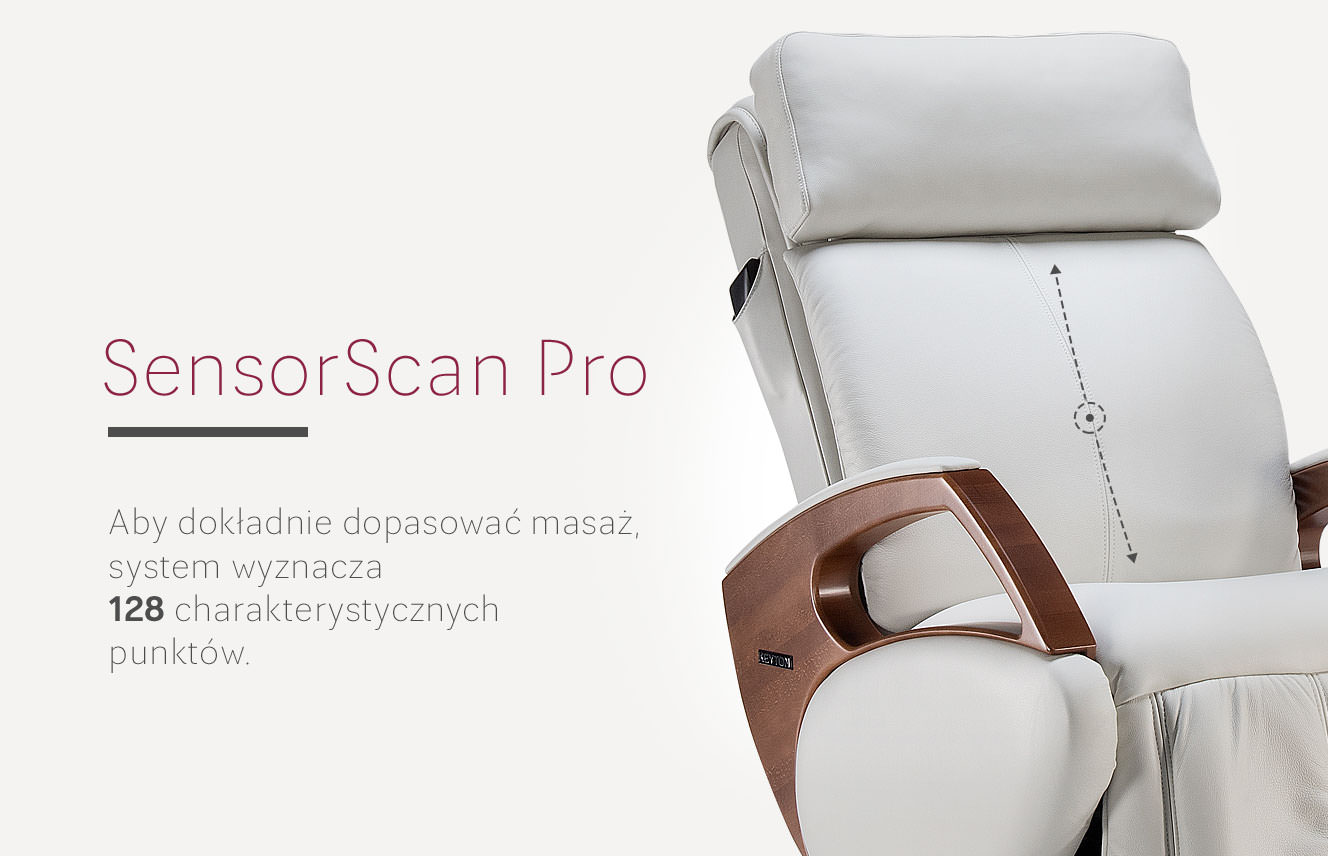 Czujniki fotela masującego Sensor Scan Pro