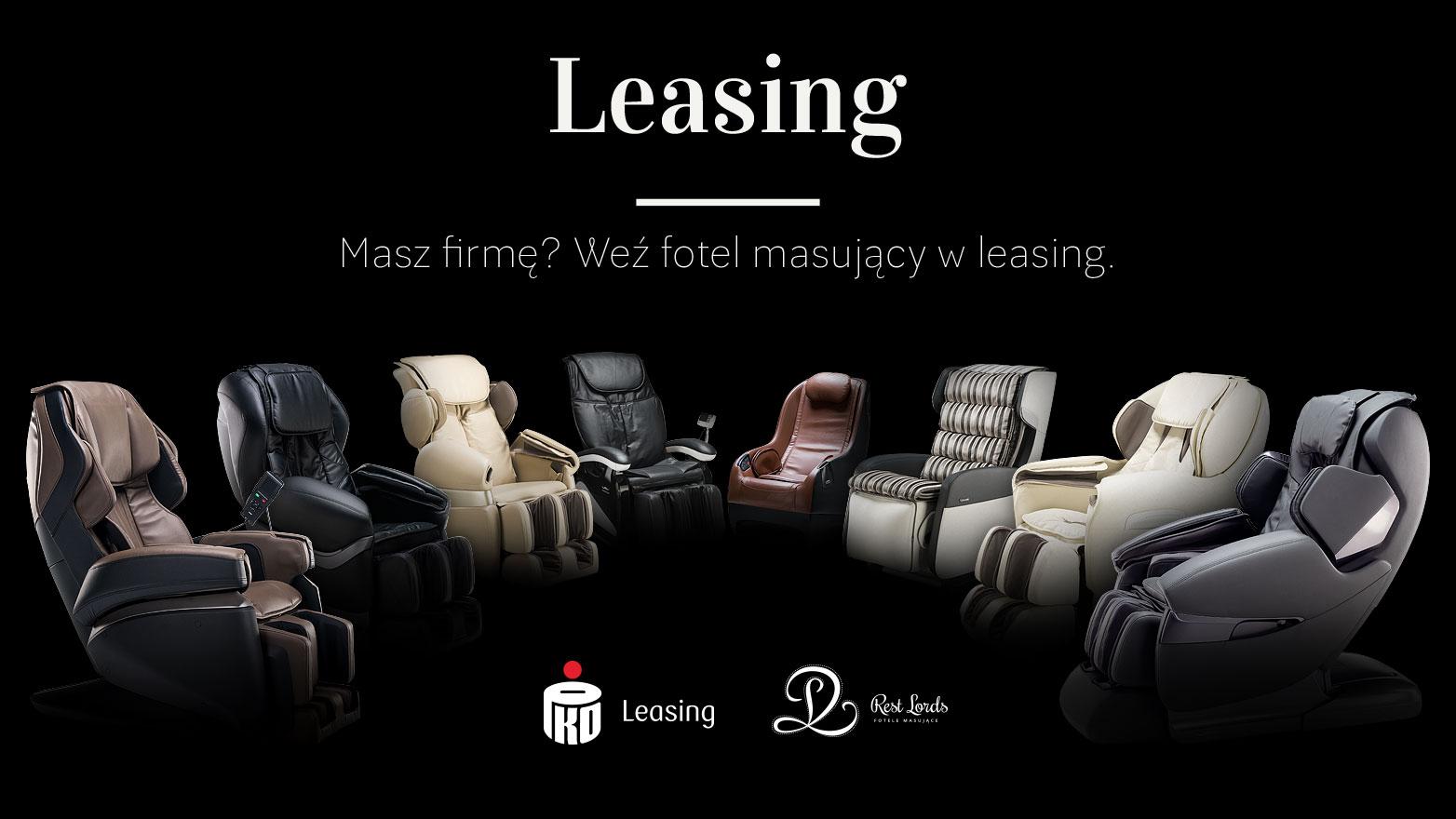 Fotel masujący leasing PKO