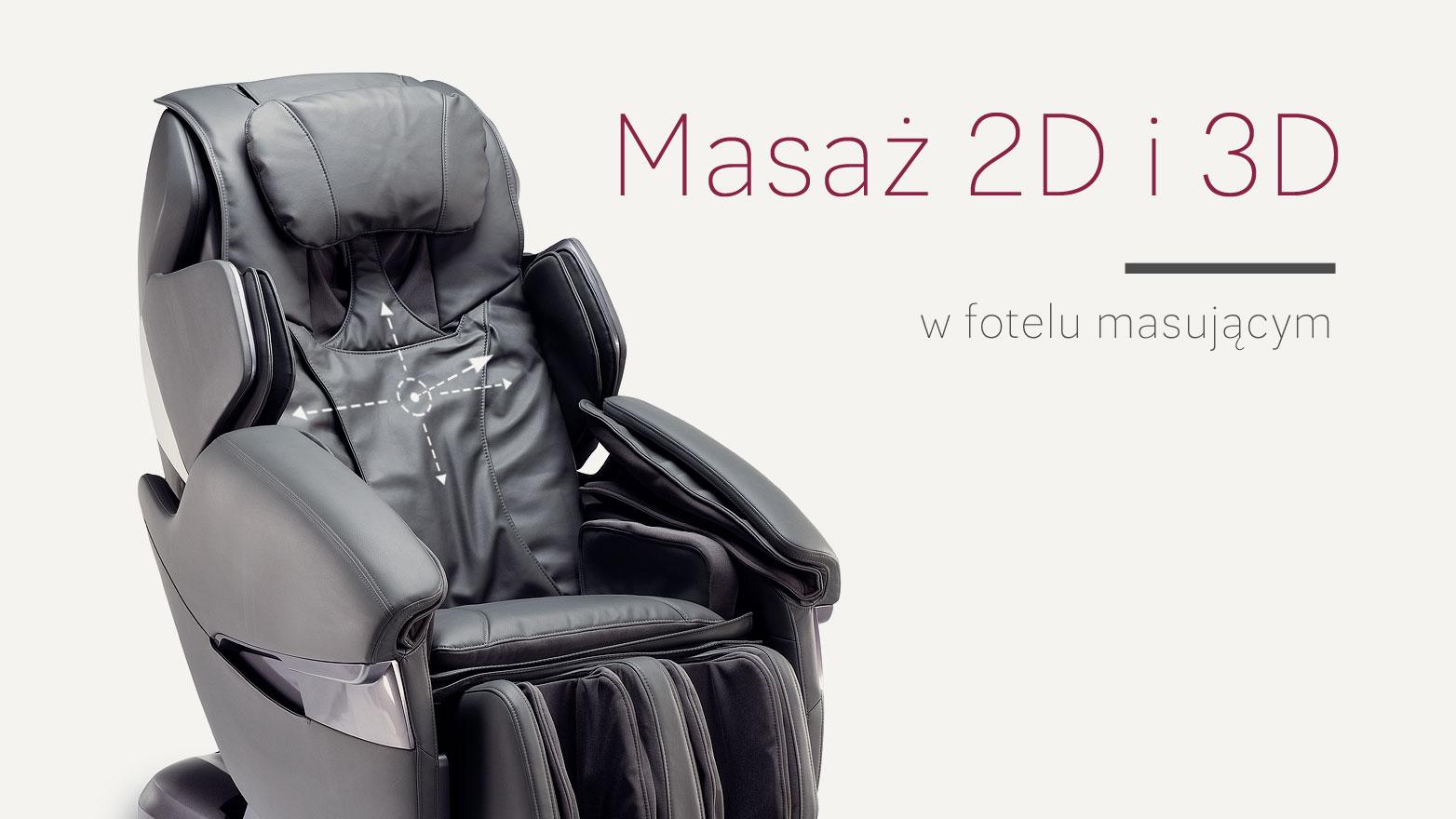 Fotel masujący masaż 2d 3d Rest Lords