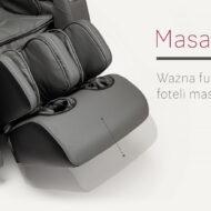 Masaż nóg w fotelu masującym