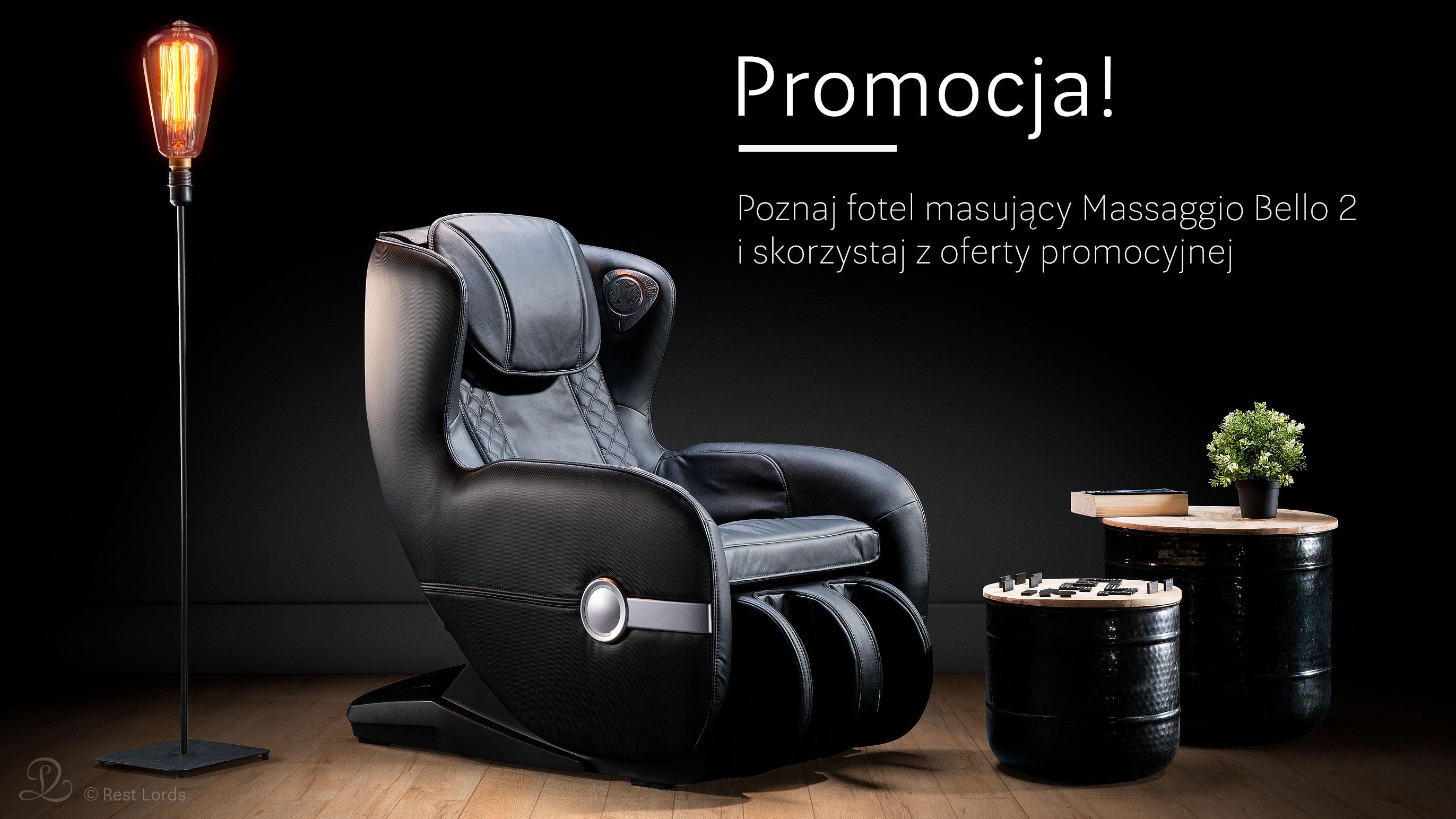 Fotel masujący Massaggio Bello 2 promocja wyprzedaż