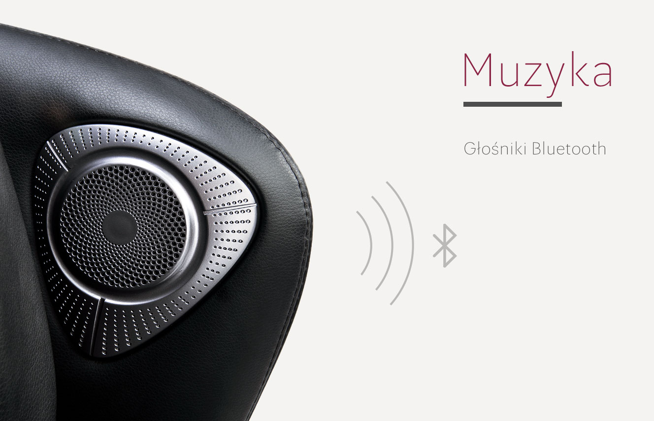 Muzyka i bluetooth w Massaggio Bello 2