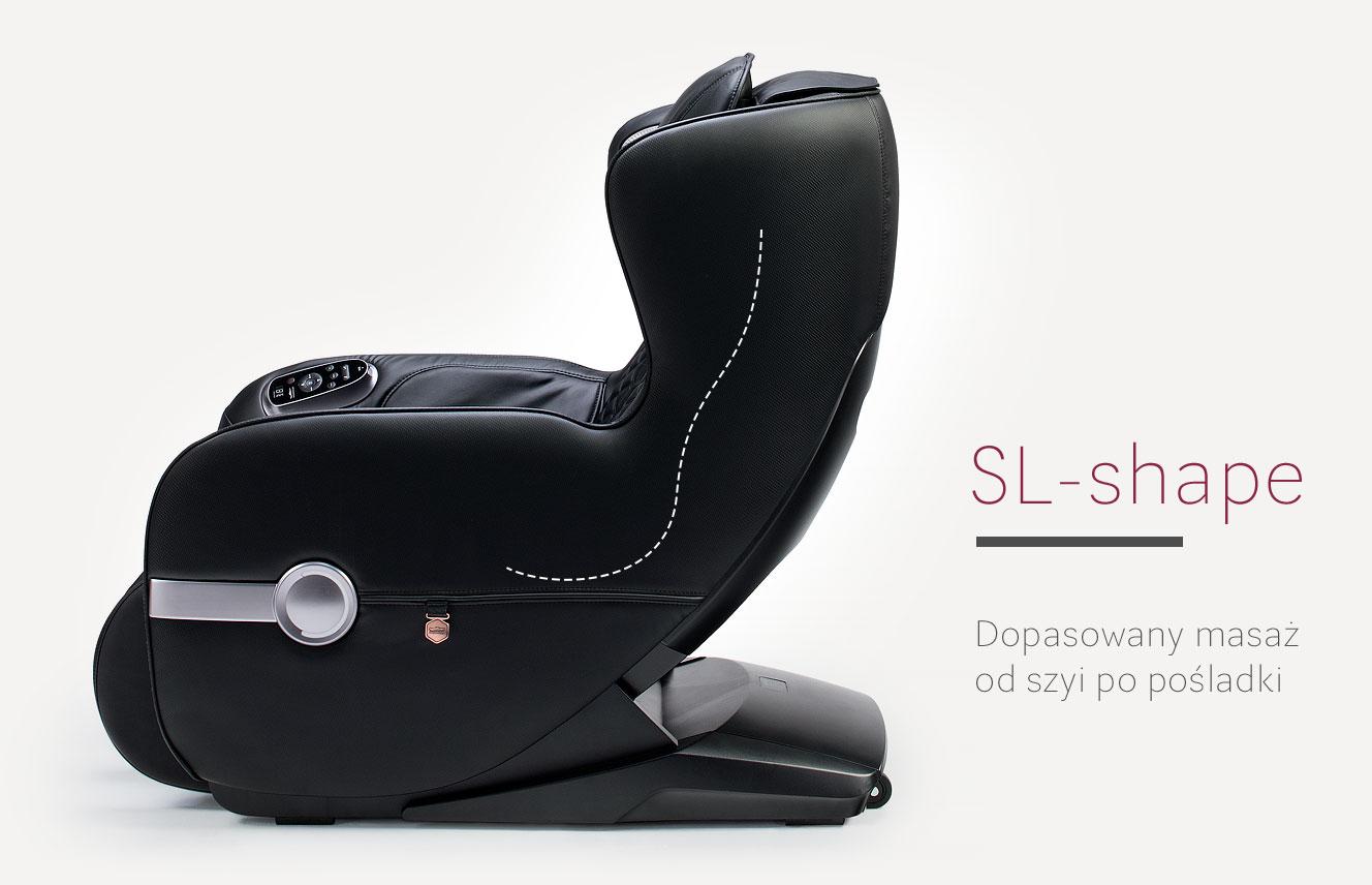Fotel masujące Massaggio Bello 2 system SL-Shape