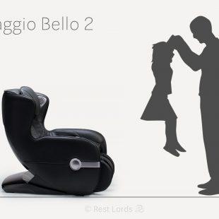 fotel masujący Massaggio Bello 2 w liczbach