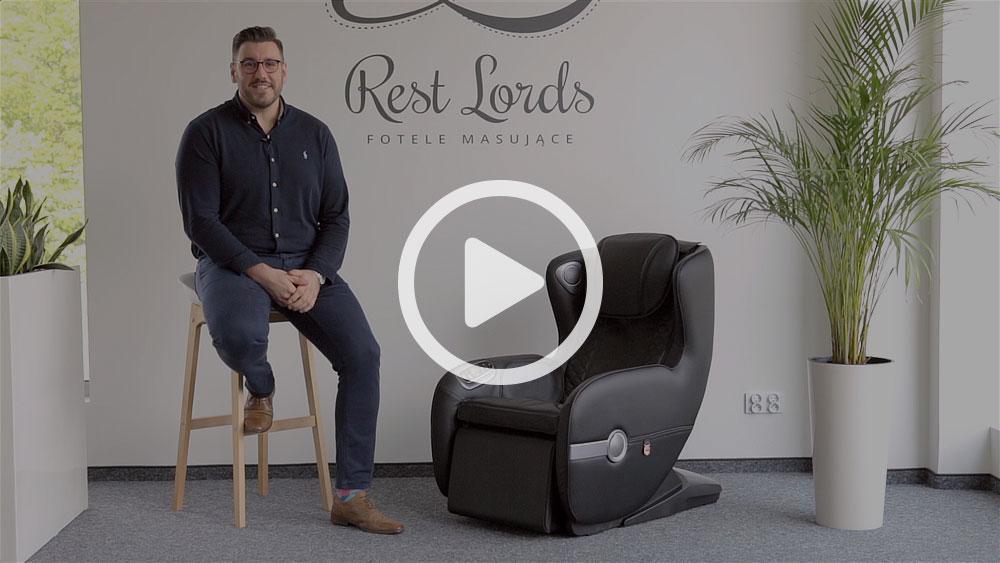 Wideo instruktaż obsługi fotela masującego Massaggio Bello 2