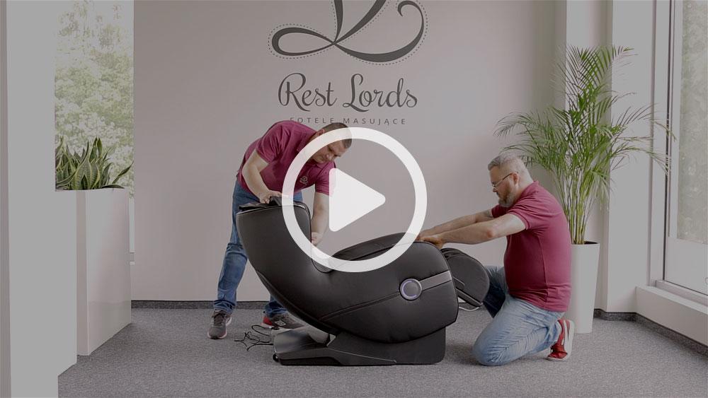 Unboxing fotela masującego Massaggio Bello 2