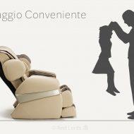 Fotel masujący Massaggio Conveniente w liczbach