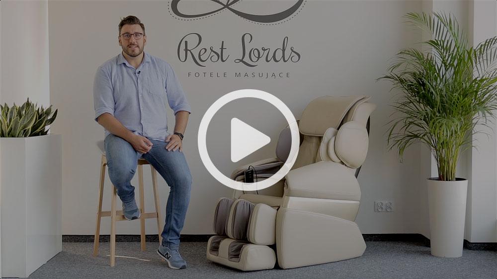 Wideo instruktaż obsługi fotela masującego Massaggio Conveniente