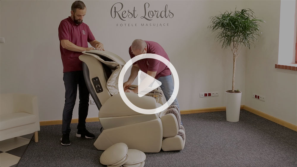 Unboxing fotela masującego Massaggio Conveniente