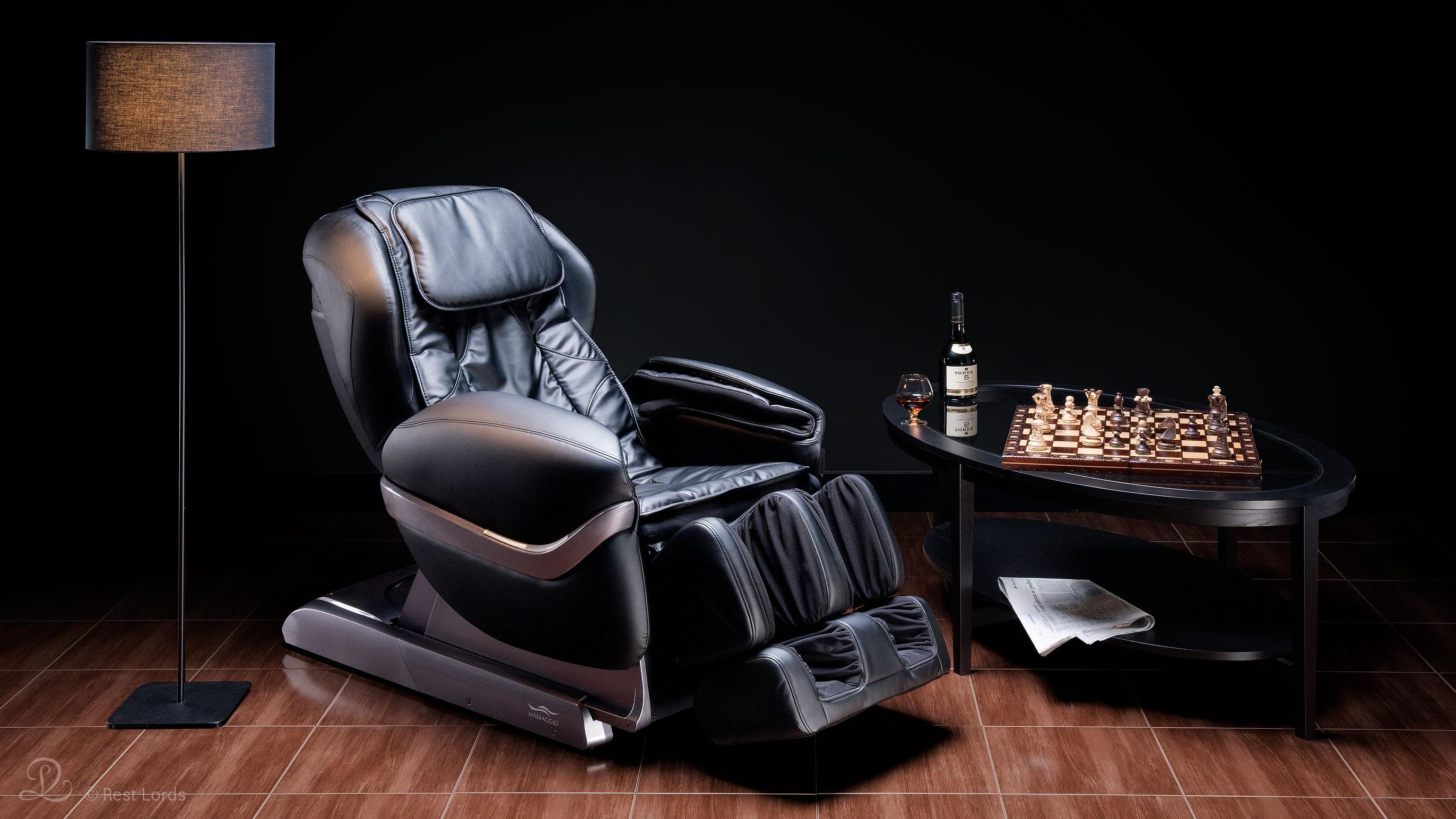 Fotel z masażem Massaggio Eccellente