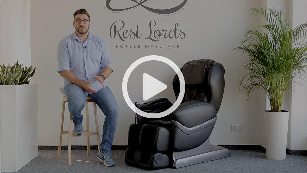 Wideo instruktaż obsługi fotela masującego Massaggio Eccellente