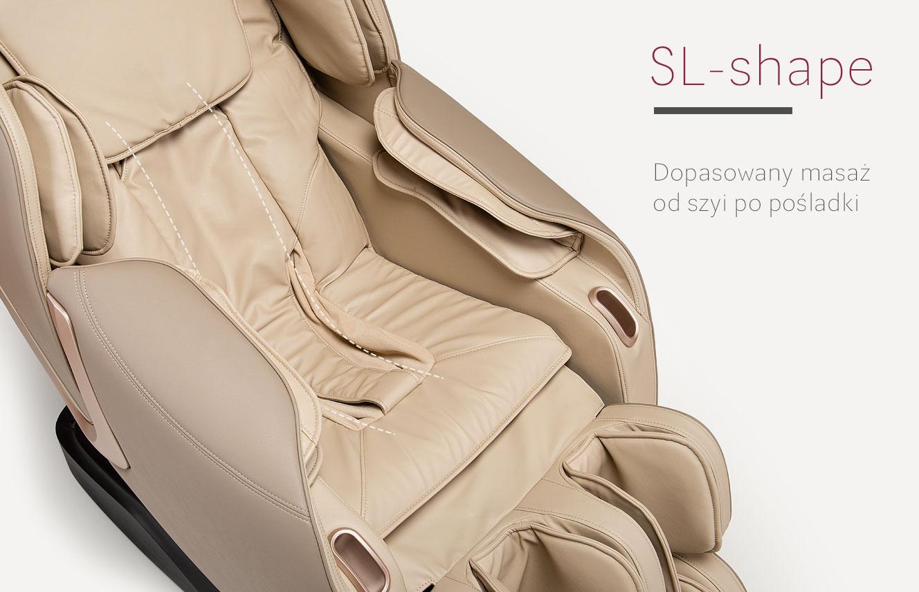 SL-shape Fotel masujący Massaggio Eccellente 2 PRO