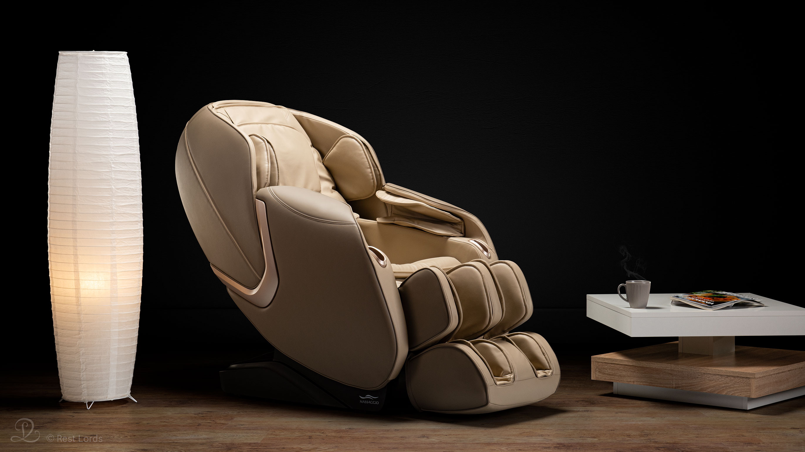 Fotel masujący Massaggio Eccellente 2 PRO beżowy