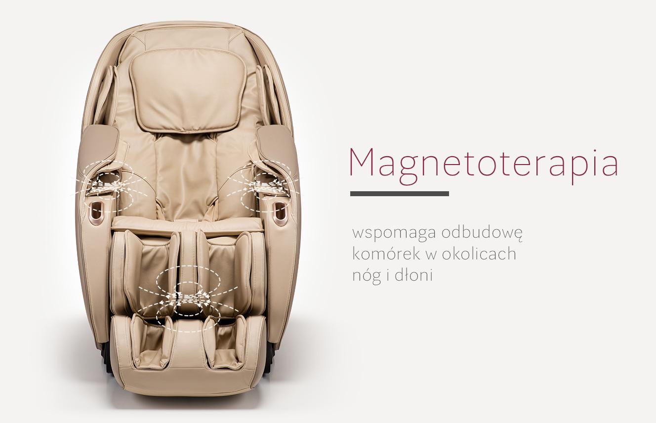 Magnetoterapia w fotelu masującym Massaggio Eccellente 2 PRO