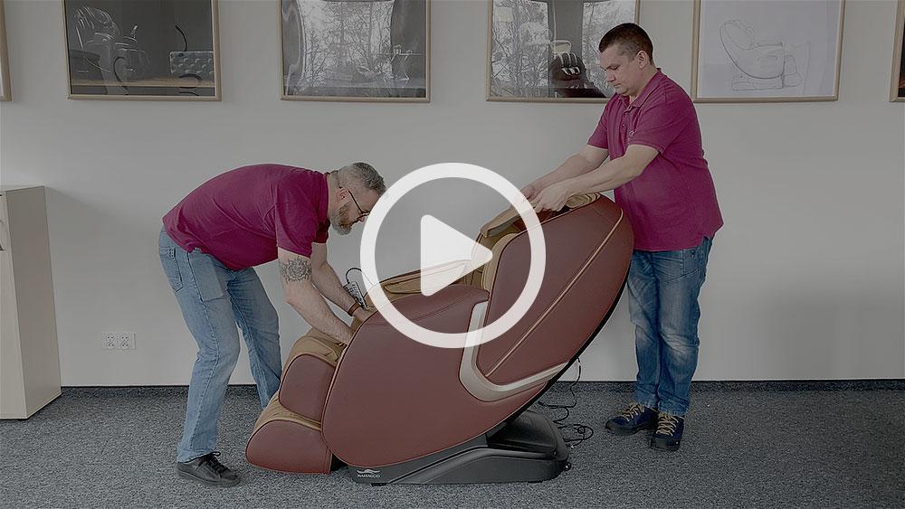 Jak przygotować do użytku Massaggio eccellente 2 pro?
