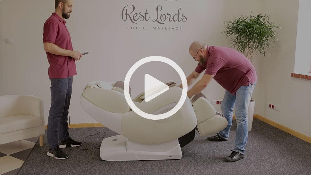 Unboxing fotela masującego Massaggio Esclusivo