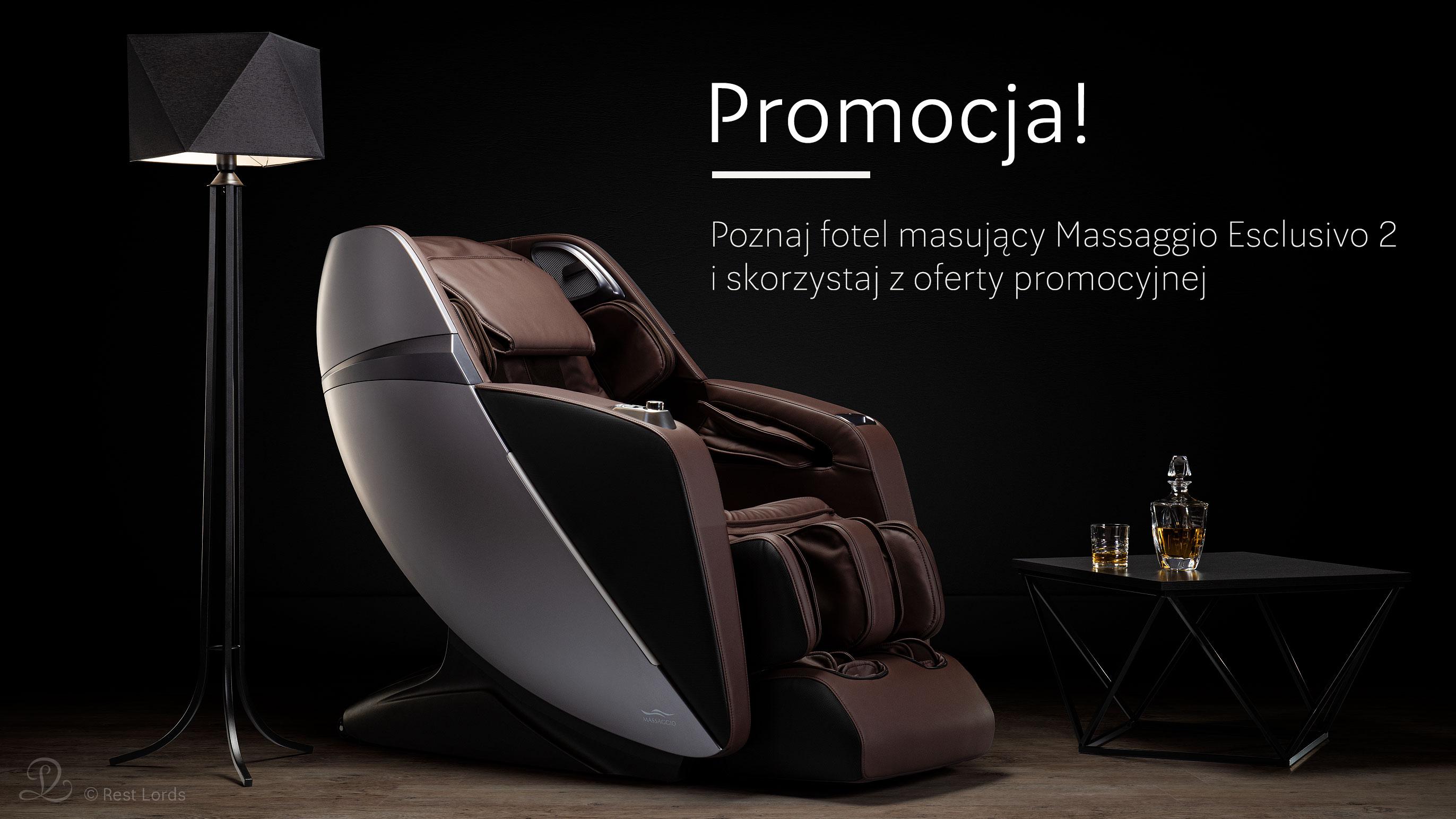 Fotel masujący Massaggio Esclusivo 2 promocja wyprzedaż