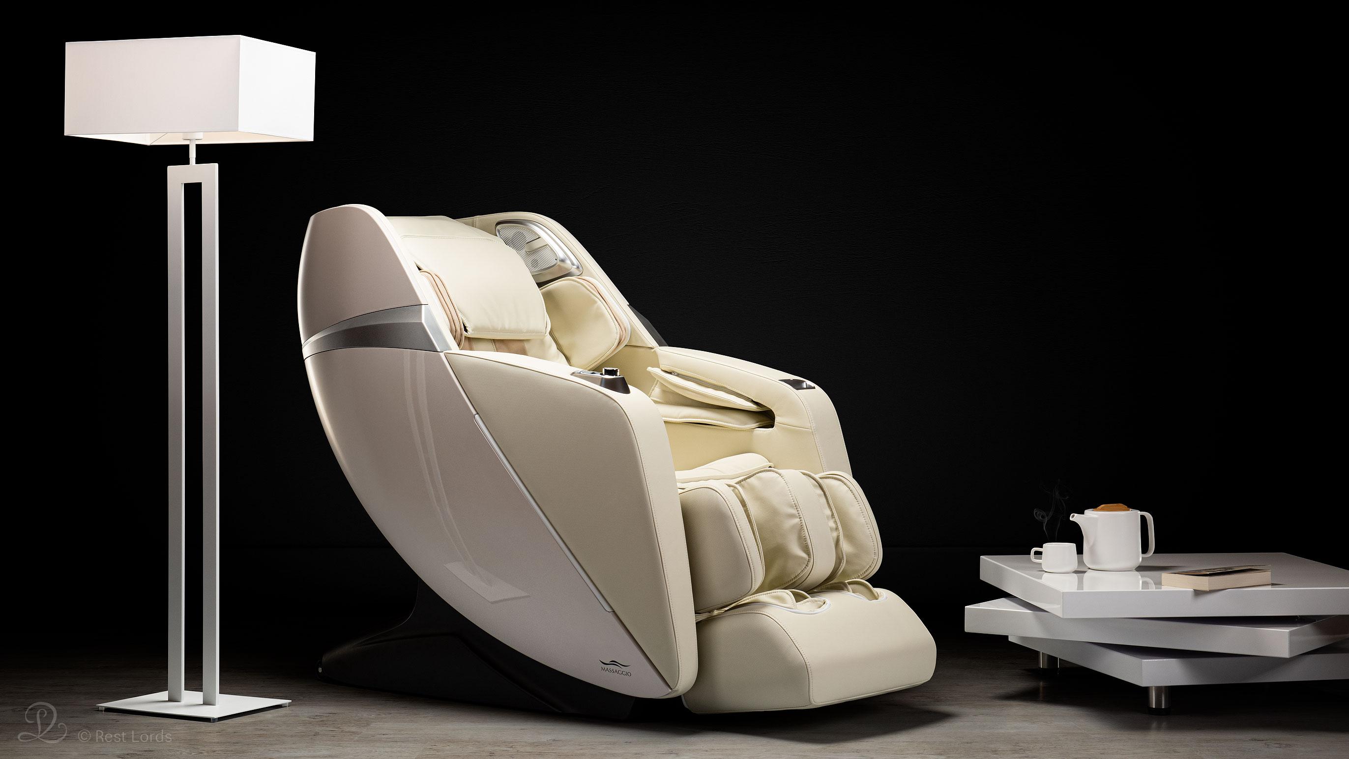 Fotel masujący Esclusivo 2 beżowy
