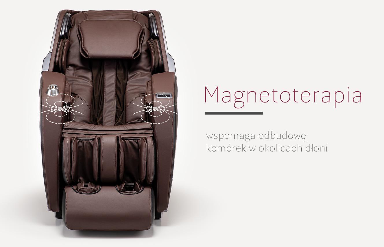 Magnetoterapia w fotelu masującym Massaggio Esclusivo 2