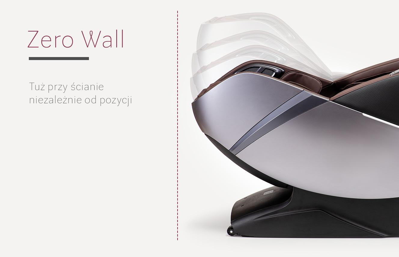 Zero Wall w fotelu masującym