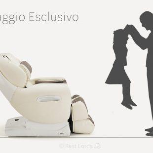 Fotel masujący Massaggio Esclusivo w liczbach